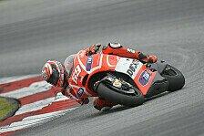 MotoGP - Dovizioso hatte keine perfekte Diva erwartet: Ducati Fahrer mit gro�en Aufgaben in Malaysia