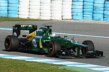 Formel 1 - Caterham-Rookie mit Boliden zufrieden: Van der Garde: Auto f�hlt sich besser an