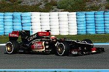 Formel 1 - Das war kein schlechter Tag: Zufriedene Gesichter bei Lotus