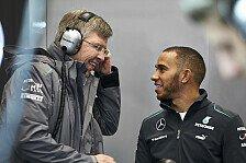 Formel 1 - Siegesserie m�glich: Brawn traut Hamilton den Titel zu