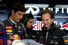 Formel 1 - Morgens um neun Uhr kam der Anruf: Horner verstimmt �ber kurzfristige Webber-Info