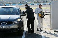 Formel 1 - Sp�rbarer Unterschied zu McLaren: Hamilton: Der Jerez-Unfall aus seiner Sicht