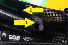 Formel 1 - Bilderserie: Der Caterham-Auspufftrick in Bildern