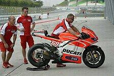 MotoGP - Neue Teile erfolgreich getestet: Ducati experimentierte in Jerez