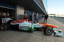 Formel 1 - Keine ernsthaften Verletzungen: Testunfall: Rossiter f�hrt Mechaniker um