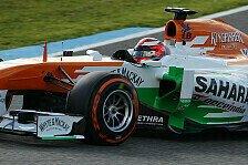 Formel 1 - Erster Testeinsatz seit Januar 2008: Rossiter: Comeback nach f�nf Jahren