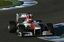 Formel 1 - Rossiter soll Erfahrung sammeln: Silverstone-Training: Sutil muss zusehen
