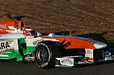 Formel 1 - Wetter zu schlecht: Kein Freitagseinsatz f�r Rossiter