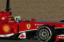 Formel 1 - Viele gute Autos unterwegs: Massa: Bestzeit bedeutet nichts