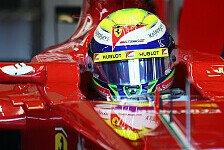 Formel 1 - Vettel fehlt eine Sekunde: Jerez Tag 3: Massa Schnellster