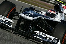 Formel 1 - Deb�t in Barcelona: Williams: FW35 besteht Crashtest