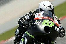 MotoGP - Schmetterlinge im Bauch: Staring ist schwer beeindruckt