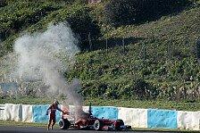 Formel 1 - Gro�er Mann im kleinen Cockpit: De la Rosa: Unbequeme Fahrt nach Feuer-Unfall