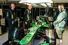Formel 1 - Hinter den Kulissen: Video - Caterham: Test- & Simulatoreindr�cke