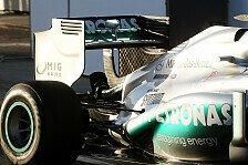 Formel 1 - Antwort auf aktives Doppel-DRS-Verbot: Mercedes testet passives Doppel-DRS