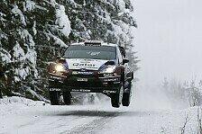WRC - Alarm, steigende Temperaturen und b�sartige Polster: �stberg mit viel Schweden-Pech