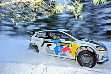 WRC - Volkswagen dominiert: Schweden: Ogier baut F�hrung aus