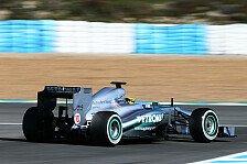 Formel 1 - Ermutigende Zeichen: Brawn mit Entwicklung zufrieden