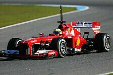 Formel 1 - Jung und Alt in Bahrain: Ferrari testet mit Bianchi und de la Rosa