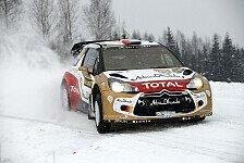WRC - Bedingungen machen Piloten zu schaffen: Schwarzer Tag f�r Citroen