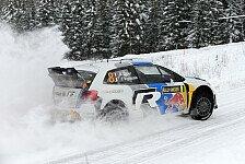WRC - Latvala holt erste Bestzeit mit VW: Ogier an der Spitze, Loeb im Vormarsch