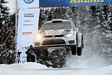 WRC - Hirvonen holt sich Bestzeit: Ogier bleibt in Schweden vorne
