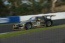 Mehr Sportwagen - Holdsworth schneller denn je: Bathurst: Polesitter vom SLS begeistert
