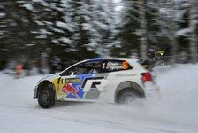 WRC - �stberg schnappt sich Rang drei: Schweden: Ogier marschiert in Richtung Sieg