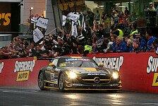 Mehr Sportwagen - Schneider, J�ger und Roloff triumphieren am Mount Panorama: 12 Stunden Bathurst: Sieg f�r Mercedes