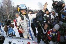 WRC - Der sch�nste Moment meiner Karriere: Ogier: Im Auto geschrien