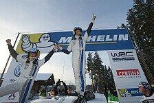 WRC - 2014 m�glicherweise letztes WRC-Event: Zukunft der Rallye Schweden heikel