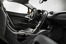 Auto - Der Blick in den Innenraum: Neues vom McLaren P1
