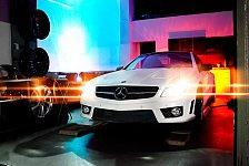 Auto - Snow White by Famous Parts!: Dauerbrenner Mercedes-Benz SL500