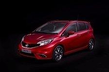 Auto - Design und Technologie vernetzt: Nissan Note im dynamischen Design