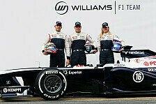 Formel 1 - Besser als 2012?: Williams pr�sentiert den FW35