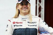 Formel 1 - Wieder auf dem Podium stehen: Susie Wolff strebt GT-Rennen an