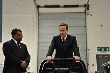 Formel 1 - Bilder: Premierminister zu Besuch bei Caterham