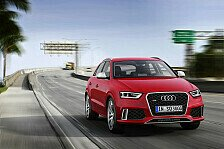 Auto - Erstes RS-Modell in der Q-Baureihe : Der neue Audi RS Q3