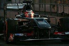 Formel 1 - Sonnenschein f�r Sauber: H�lkenberg: Weltspitze im Visier