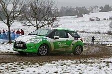 Mehr Rallyes - Erster Start eines DS3 R1 der deutschen Citroen Trophy auf deutschen Rallye-Strecken: Knof-Motorsport bei Citroen Trophy