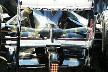 Formel 1 - Von Wheel-Nut-Blowing und Exhaust-Wings: Technik-Trends in Barcelona
