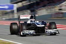 Formel 1 - Gro�er Sprung im Vergleich zum Vorjahr: Bottas: Erstmals im FW35