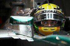 Formel 1 - Ich k�nnte nicht gl�cklicher sein: Fahrer-Fokus bei Mercedes: Hamilton begeistert