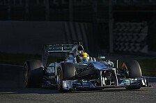 Formel 1 - Abflug-Orgie zum Abschluss: Barcelona, Tag 4: Hamilton im Regen zur Bestzeit