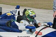 IndyCar - Handverletzung wird von allein heilen: Kanaan: Start in Brasilien nicht in Gefahr