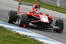 GP3 - Erster Einsatz im F1-Boliden: Ellinas bleibt bei Marussia Manor