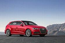 Auto - Boosten und segeln: Audi A3 e-tron auf dem Genfer Automobilsalon