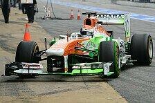 Formel 1 - Detaillierte R�ckmeldung abgegeben: Force India: Sutil erh�lt Lob vom Team