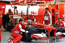 Formel 1 - Wollten ans Limit gehen: Ferraris Auspuffbruch kein Beinbruch