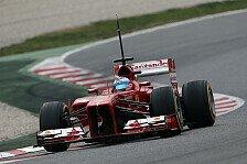 Formel 1 - Abschied mit Bestzeit: Barcelona, Tag 3: Alonso an der Spitze